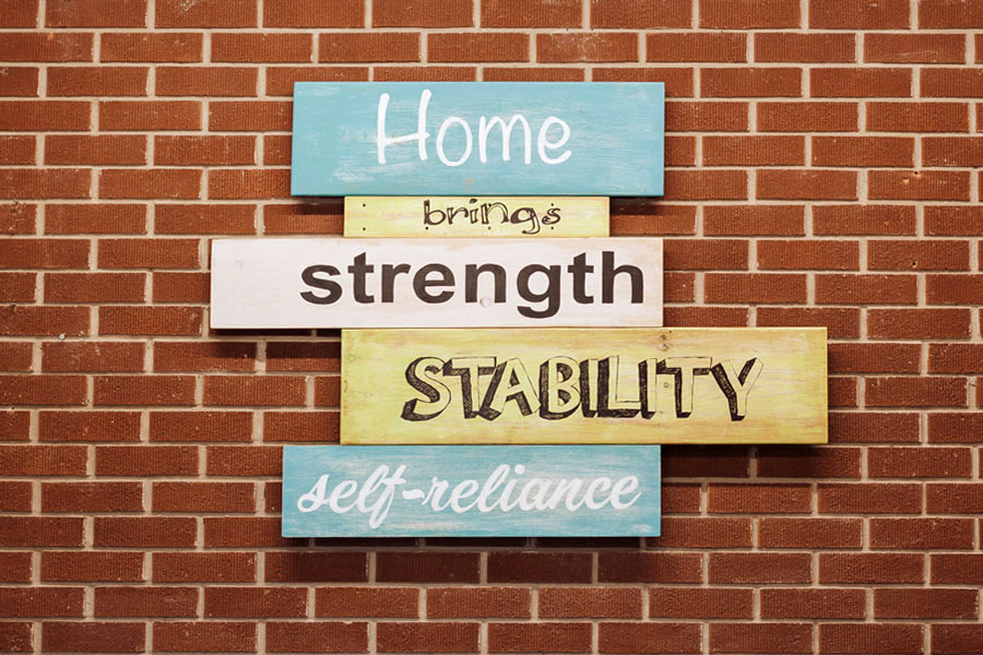 home ownership brings strength stability and self-reliance